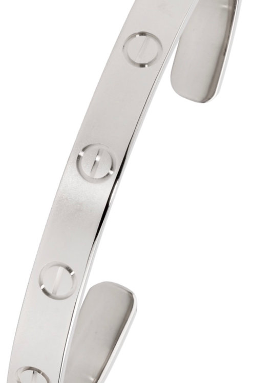 CARTIER LOVE BRACELET WHITE GOLD SIZE 21 FROM 2018
