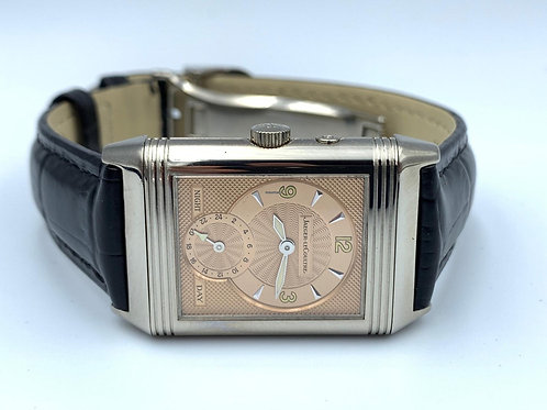 Jaeger-LeCoultre Reverso DAY & NIGHT White gold with Box & Papers