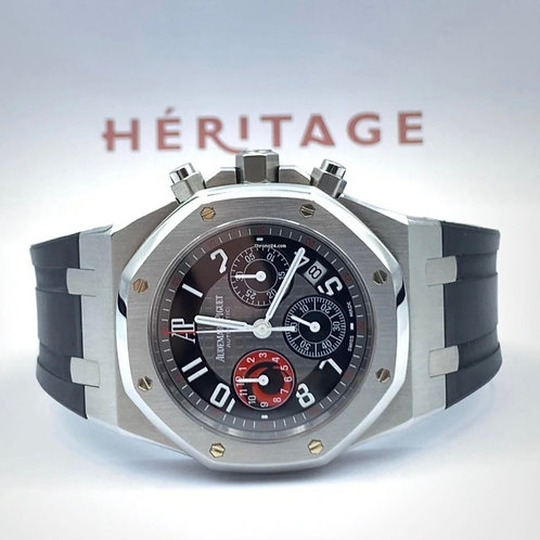 Audemars Piguet Alinghi City Of Sails Royal Oak Chronograph from 2003 with box &