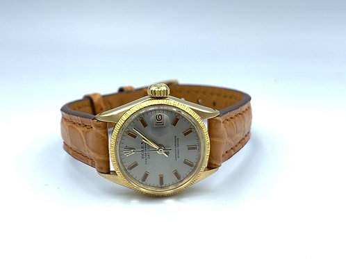 Rolex Lady-Datejust 26MM 18K Yellow gold Anno 1969