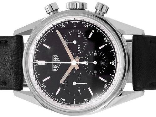 TAG Heuer Carrera Chronograph steel manual winding