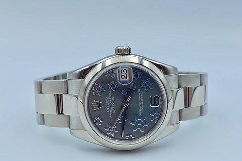 Rolex Datejust 31mm Flower Dial with box & papers from 2013