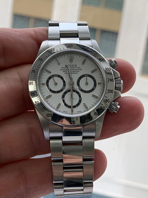Rolex Daytona Zenith steel A serial box&papers excellent condition