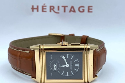 Jaeger-LeCoultre Grande Reverso Ultra Thin Duoface rose gold with box & papers f