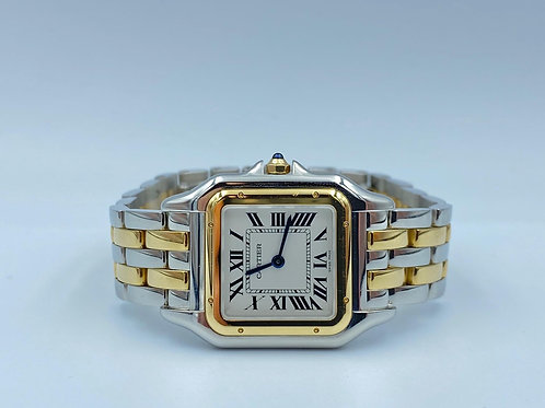 Cartier Panthère gold/steel midsize new/unworn 2019 box & papers