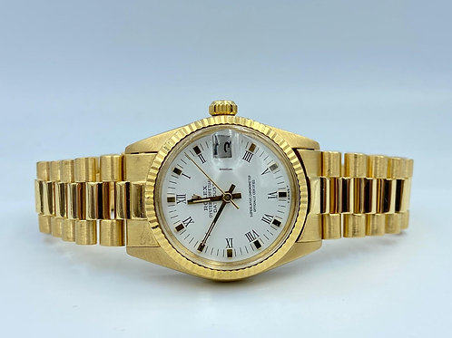 Rolex Datejust 31mm 18k yellow gold from 1981