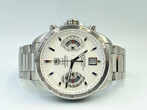 TAG Heuer Grand Carrera Calibre 17 steel big size