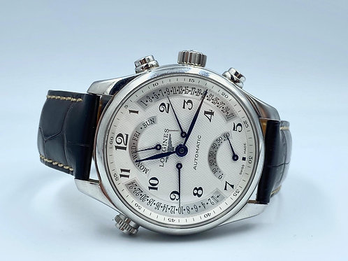 Longines Master Collection Retrograde Automatic 44mm box & papers