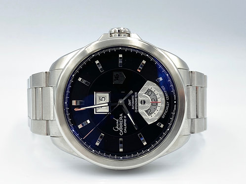 TAG Heuer Grand Carrera GMT Calibre 8 automatic in steel