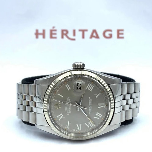 Rolex Datejust 36mm vintage from 1978 with box & papers - jubilee - Buckley dial