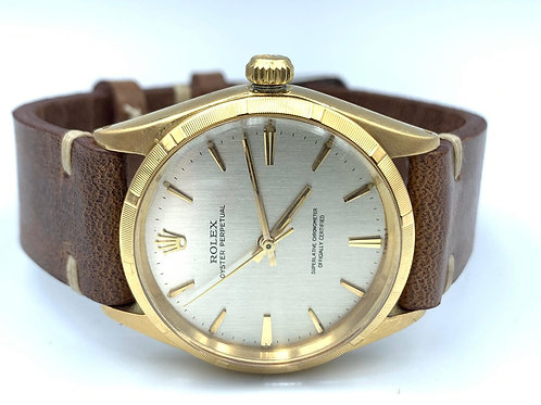 Rolex Oyster Perpetual 34mm 18k yellow gold from 1966 - ref 1003