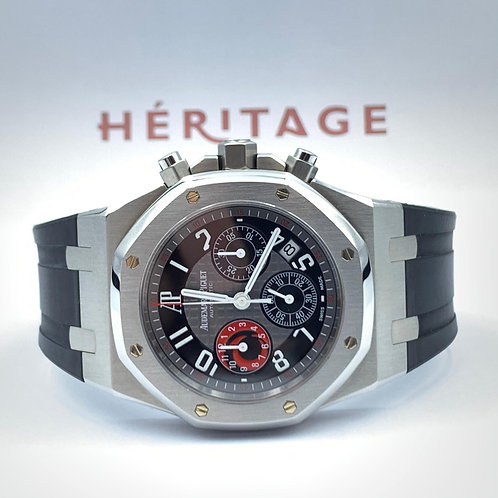 Audemars Piguet City Of Sails Royal Oak Chronograph from 2003 with box & archive