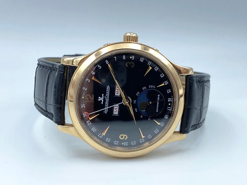 Jaeger-LeCoultre Master Calendar Moonphase rose gold from 2005 box & papers