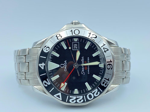 Omega Seamaster Gmt Limited Edition 50th Anniversary automatic