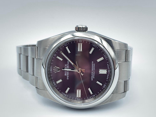 Rolex Oyster Perpetual 36mm purple dial 2017