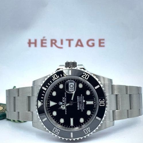Rolex Submariner Date 41mm steel NEW 2020 box & paper