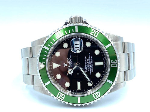 Rolex Submariner Date Kermit V serial 2008 box - EU card with the complet set