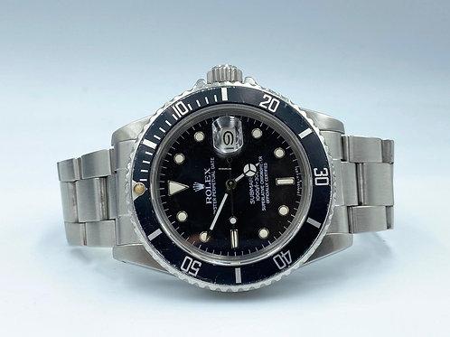 Rolex Submariner Date steel ref 16800 from 1984