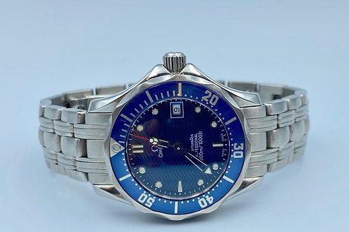 Omega Seamaster Diver 300 M 29mm quartz blue dial