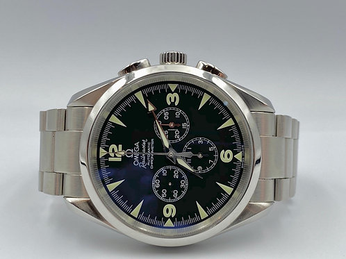 Omega Railmaster Seamaster NEW with Box & Papers Extended Warranty until 2030