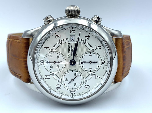 Longines 130 Years 165 Limited Edition Chronograph in steel