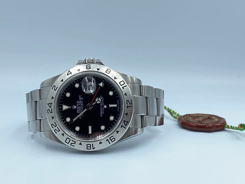 Rolex Explorer II 40mm in excellent condition from 2003 with box & papers Y seri