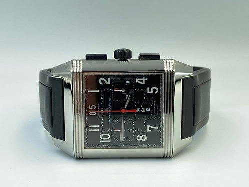 Jaeger-LeCoultre Reverso Squadra Chronograph GMT 2012 box & papers
