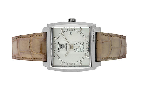TAG Heuer Monaco Lady Mother of pearl diamond with papers