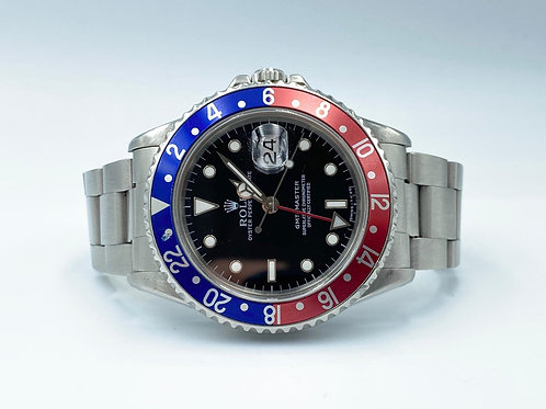 Rolex GMT-Master II 16700 L serial from 1988