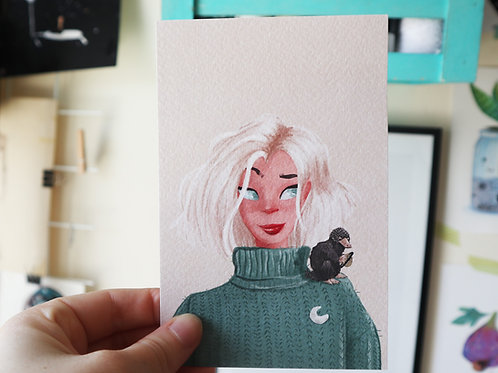 Niffler Art Print