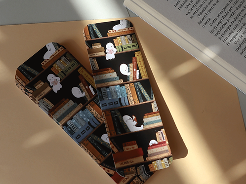 Ghost reading bookmarker