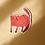 Thumbnail: Orange Cat Die Cut Sticker