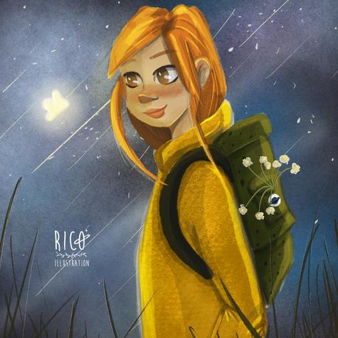 Forest girl ranger