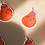 Thumbnail: Orange Pear Die Cut Sticker