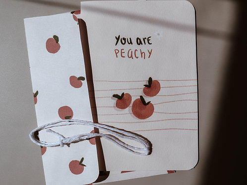 You are peachy card