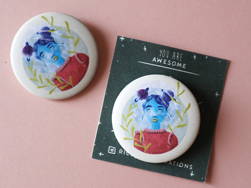 Cosmic Girl Badge