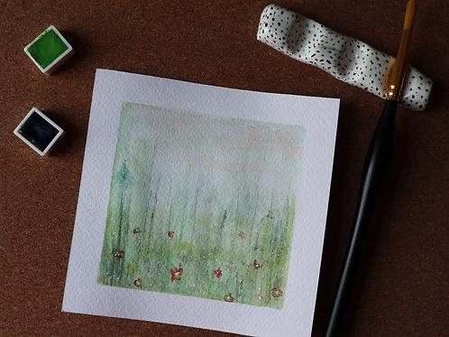 Flower field - original
