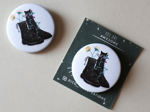 Cats in Boots Badge