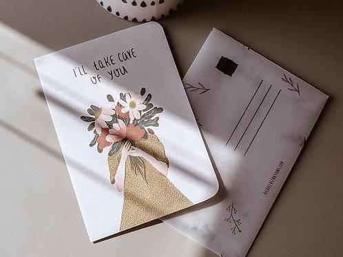 I'll take care of you card
