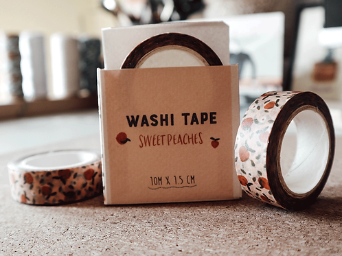Sweet Peaches Washi tape