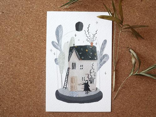 Magic house Art Print