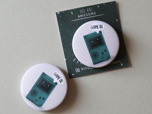 Gameboy Badge