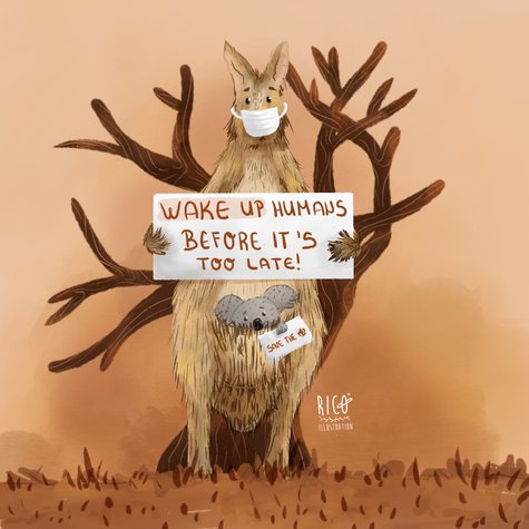 Wake up humans