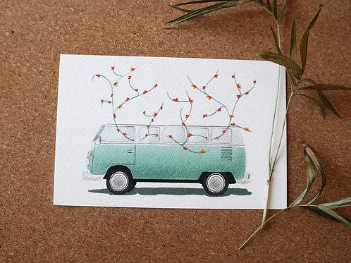Van Art Print