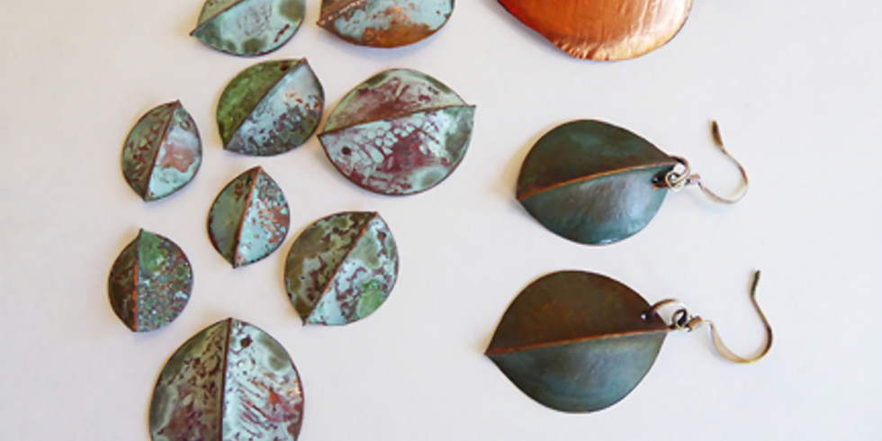 Copper Leaf Fold Forming