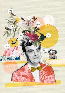 Psychoanalysis collage