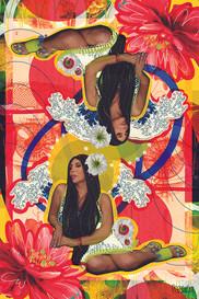 Customized collage portrait