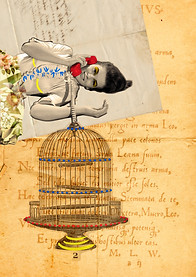 Digital collage sent to the artist Sara Serna (Colombia). 2015