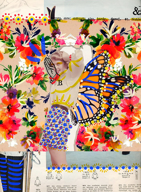 Digital collage made with the artist Sara Serna (Colombia). 2015