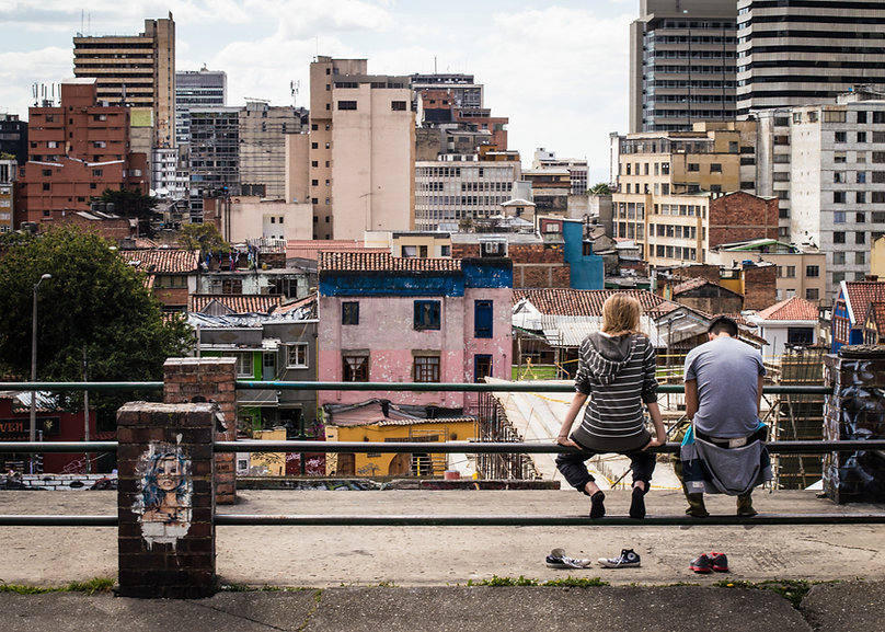 Colombia, city, teenagers